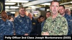 FILE - Navy Admiral John Richardson
