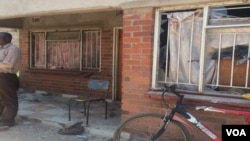 Suspected Zanu PF activists stoned this house in Chitungwiza