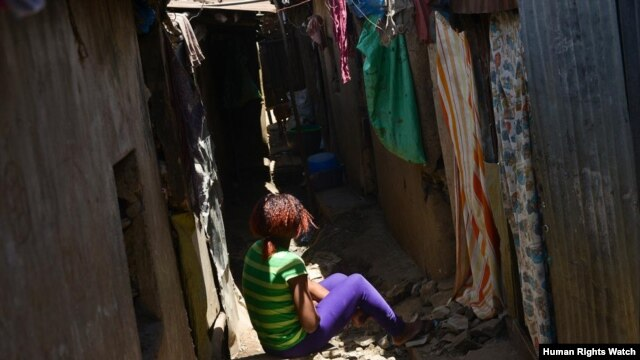 Mwende T., 16 at the time, was raped in January 2008 by a neighbor who said he would help her to escape marauding youths. When she went to the police to report the rape, a police officer said she was lying.