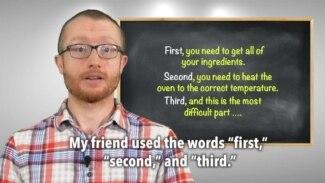Everyday Grammar: Transitions