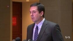 House Intelligence Chairman Steps Aside in Russia Probe