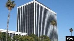 Kantor pusat Perusahaan Internet untuk Pemberian Nama dan Nomor (ICANN) di Marina del Rey, negara bagian California, AS (foto: dok).