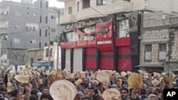 شام: سیکیورٹی فورس کی فائرنگ میں 21 افراد ہلاک