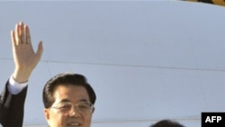 Ху Цзиньтао с супругой