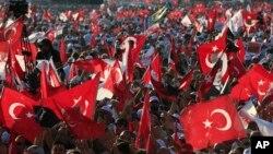 Turkiya bo'ylab siyosiy chiqishlar
