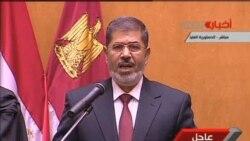 埃及新總統穆爾西星期六宣誓就職
