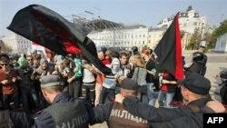 Студентські протести в центрі Києва