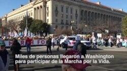 Trump apoya la Marcha por la Vida en Washington DC