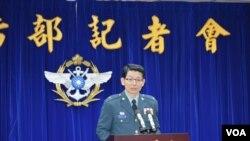 台灣國防部發言人羅紹和(資料照片 )
