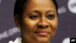 FILE - Head of Nigeria's Securities and Exchange Commission Arunma Oteh