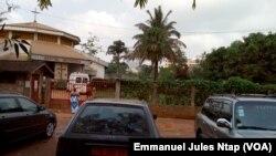 L'hôpital Bethesda à Yaoundé, sans vaccins contre le BCG depuis le début du mois de décembre, le 18 décembre 2017. (VOA/ Emmanuel Jules Ntap)