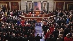 کنگره جدید آمریکا نخستین جلسه خود را تشکیل داد