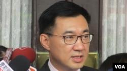 台灣在野黨國民黨主席江啟臣(美國之音張永泰拍攝)