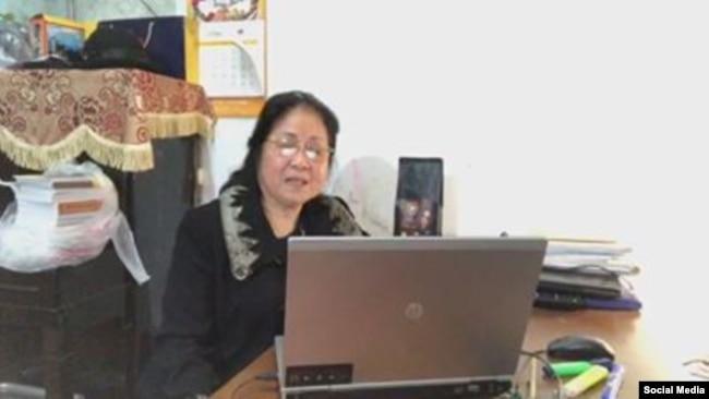 Bà Phạm Thị Qúy. Photo Facebook Quy Pham.