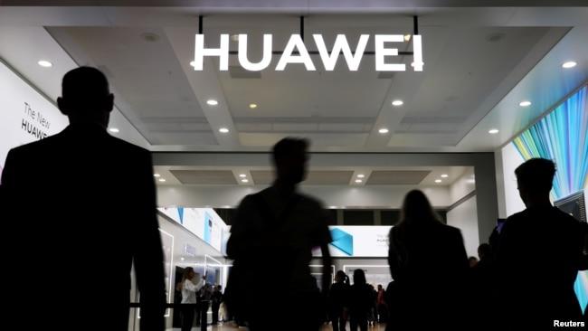 中国通信产品商华为2019年9月参与德国柏林的一个展销会(路透社)