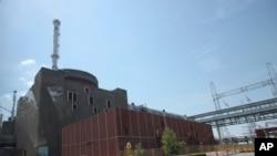La centrale nucléaire de Zaporijia (AP)