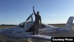 Lachlan Smart, người Queensland, đã hạ cánh ở sân bay Maroochydore ven bờ biển Sunshine.