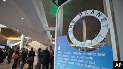 프랑스 파리에서 12일 파리기후변화협정 정상회의가 개막했다. 이번 회의에는 전세계 50여개국 대표들과 기업 관계자들이 참석했다.