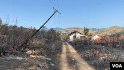 Кочани - ден после пожарот