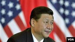 Wapres Tiongkok Xi Jinping berkunjung ke Amerika (Foto: dok).
