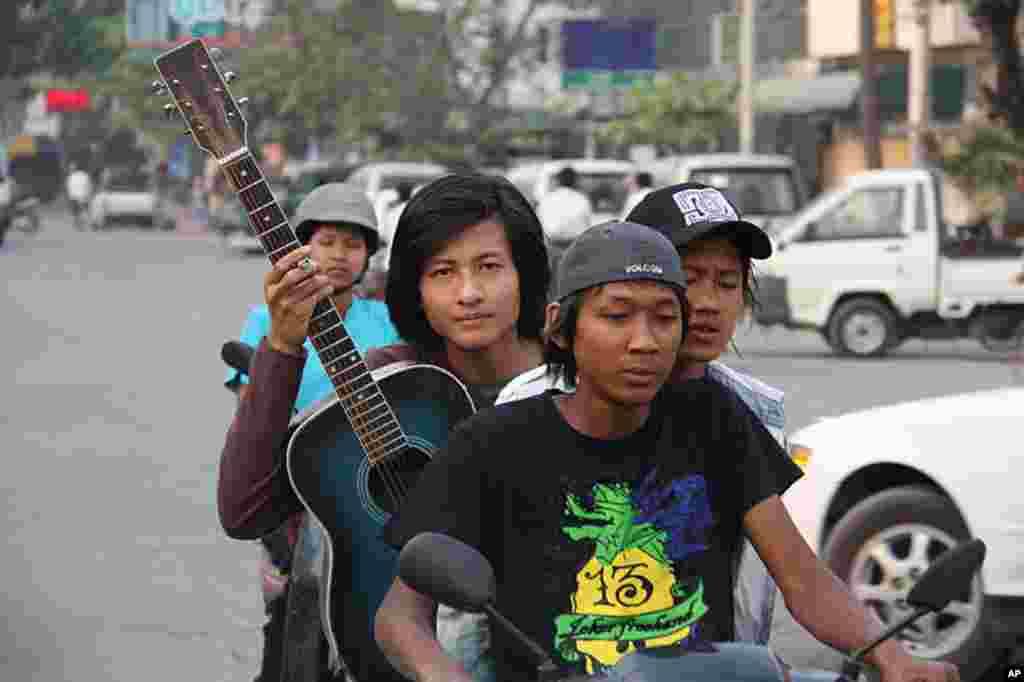 缅甸曼德勒的日子