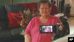 """Anna Marie Dorcas shares her memories with her family on a """"legacy video"""""""