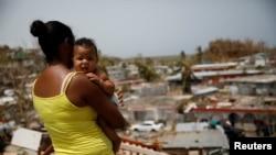 Puerto Ricoကၽြန္းမွာ ဟာရီိကိန္းမုန္တိုင္း Maria ၀င္တိုက္ခဲ့တဲ့အတြက္ ထိခိုက္ပ်က္စီးမႈမ်ား