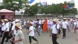 Protesters March for World Habitat Day