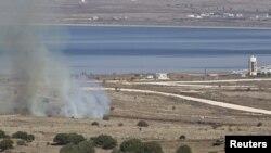 Израильско-сирийская граница в районе Голанских высот