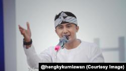 Wakil Bupati Kabupaten Bandung Barat, Hengky Kurniawan (courtesy: @hengkykurniawan)