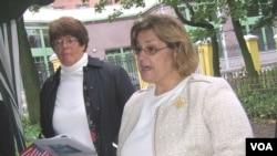 Шейла Гуолтни и Маргрет Колмэн