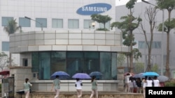 Tư liệu: Hãng Samsung ở Thái Nguyen. Ảnh chụp ngày 13/10/2016 REUTERS/Kham