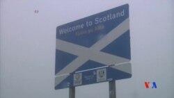 2014-09-17 美國之音視頻新聞: 蘇格蘭是否應獨立的辯論日益激烈