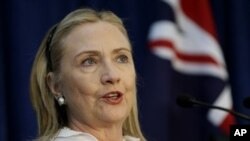U. S. Secretary of State Hillary Rodham Clinton
