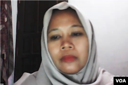 Warkhatun Najidah, akademisi Universitas Mulawarman, Samarinda, Kalimantan Timur. (Foto:VOA)