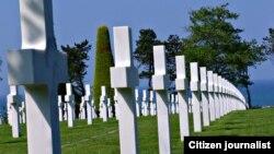 ສຸສານ ທະຫານ ສະຫະລັດ ທີ່ Normandy