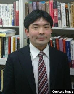 日本防卫省防卫研究所主任研究员山口信治(照片提供: 山口信治)