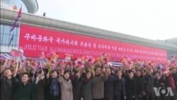 古巴领导人迪亚斯-卡内尔结束朝鲜访问