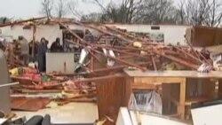 1月份罕见的龙卷风在美国南部造成2人死亡