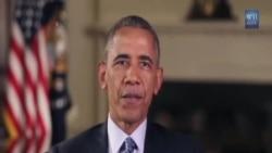 奧巴馬總統獨立日向男女將士致敬