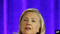 Secretary of State Hillary Rodham Clinton, September 13, 2011.