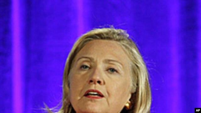 Secretary of State  Hillary Rodham Clinton, September 13,  2011.
