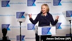 힐러리 클린턴 전 미 국무장관 (자료사진)