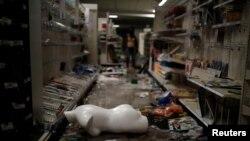 Brenda supermarketit të grabitur