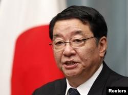 Sekretaris Kabinet Jepang, Osamu Fujimura (Foto: dok).