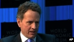 U.S. Secretary of the Treasury Timothy Geithner.