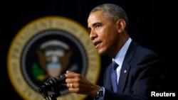بارک اوباما، رئیس جمهور ایالات متحده امریکا