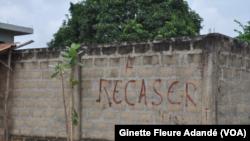 Reportage de Ginette Fleure Adandé, correspondant à Cotonou pour VOA Afrique