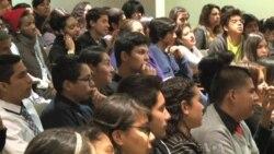 Environmental Activist Encourages Students