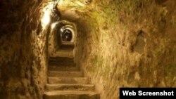 İçərişəhərdə yeraltı yol